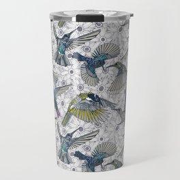 hum sun honey birds basalt Travel Mug