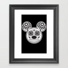 This Ain't Disney Sugar Skull Framed Art Print