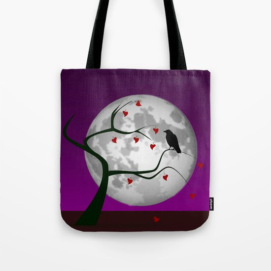 Lonely portend Tote Bag