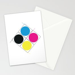 CMJN rounds Stationery Cards