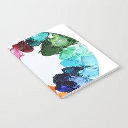 Color Wheel Polka Daubs Notebook