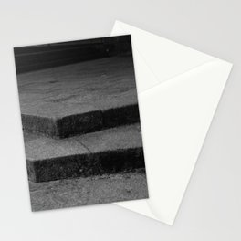 Geometric Stairs Stationery Cards