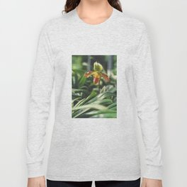 Orchidea. Orchidée. Orchid Flower. Long Sleeve T-shirt