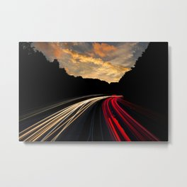 Highway to Adventure Metal Print