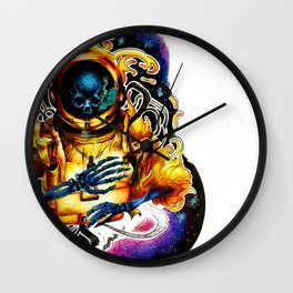 The Ethereal Void Wall Clock