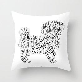 Shih Poo Shih Tzu Wall Art Shitzu Sticker Shihtzu Art Throw Pillow