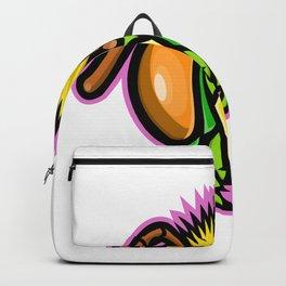 Honey Bee Mascot Backpack