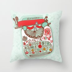 Paris Memories Throw Pillow