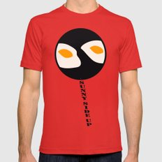 fried eggs Red LARGE Mens Fitted Tee
