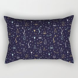 New Years Traditions Rectangular Pillow