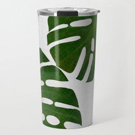 Monstera Leaf II Travel Mug