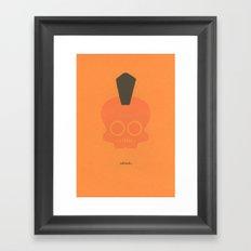 skulawk Framed Art Print