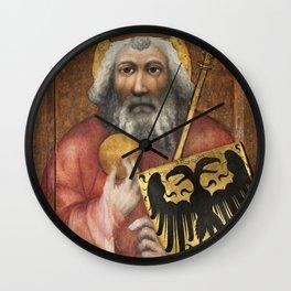 Theodoric of Prague - Saint Karel Veliký Wall Clock