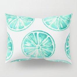 Turquoise Citrus Pillow Sham
