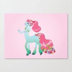 Mint Centaur Girl Canvas Print