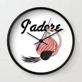 perfume Jadore Wall Clock