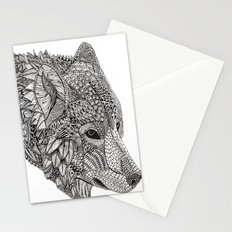 Tribal Wolf Stationery Cards