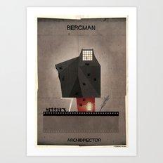 014_ARCHIDIRECTOR_Ingmar Bergman Art Print