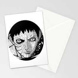 Obito Black And White Stationery Cards