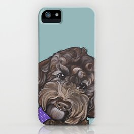 Maddie the Doodle iPhone Case