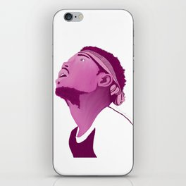 Chance The Rapper; Pink iPhone Skin