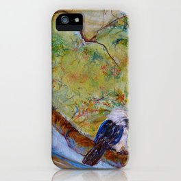Kookaburra Family iPhone Case