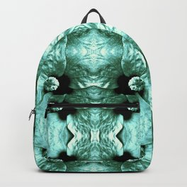 Shiny Green Flower Design, Pattern Backpack
