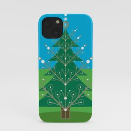 Twinkling Trees iPhone Case