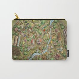 Astranella Map Carry-All Pouch