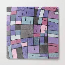 Abstract Pattern Metal Print