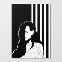 mad Canvas Prints featuring MAD by Raili Randmaa