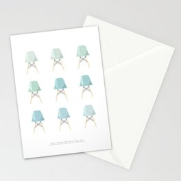 Mint Chairs Stationery Cards