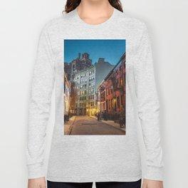 Twilight Hour - West Village, New York City Long Sleeve T-shirt