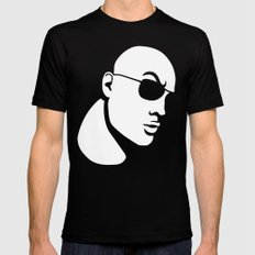 The Rock Dwayne Johnson  Mens Fitted Tee LARGE Black
