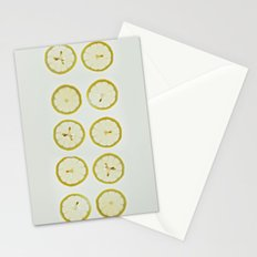 Lemon Square Stationery Cards