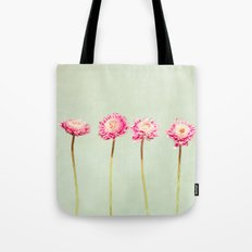 Flowers Two by Two Tote Bag