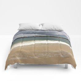 Beautiful gloomy day Comforters
