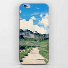 Up Mount Rainier iPhone & iPod Skin