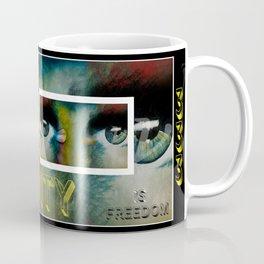 creativity is freedom Mug Coffee Mug