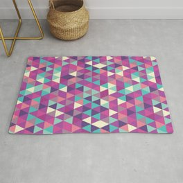 Seamless Colorful Triangle Patterns,Textures Abstract Design Rug