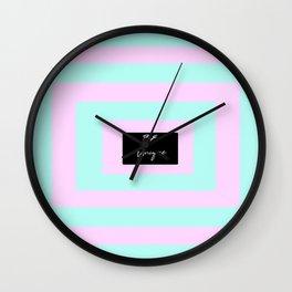 be unique #2 Wall Clock