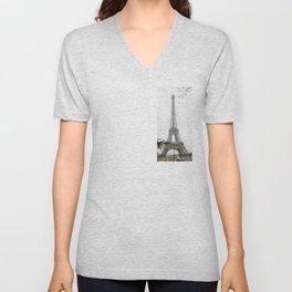 Tour Eiffel Unisex V-Neck