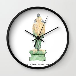George W. Bush National Monument Wall Clock