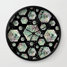 Abstract geometric pattern. Wall Clock