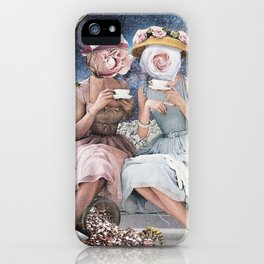 Tea Gossip iPhone Case