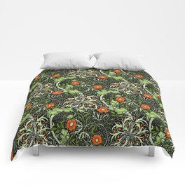 "William Morris ""Seaweed"" 3. Comforters"