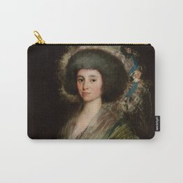 "Francisco Goya ""Portrait of Senora Ceán Bermudez"" Carry-All Pouch"