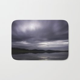 Angry Clouds Bath Mat