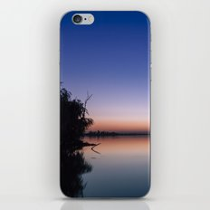 Sunset at the lake. iPhone & iPod Skin