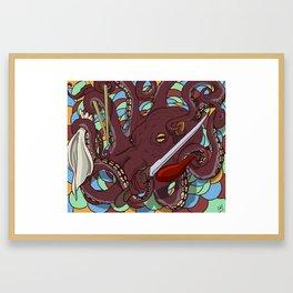 Mr. Sushi Framed Art Print